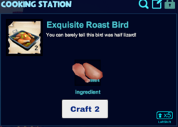Exquisite roast bird cooking station.png