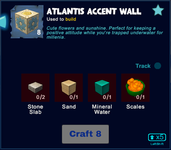 Atlantis Accent Wall