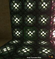 Creativerse Green Tourmaline Glass night1033.jpg
