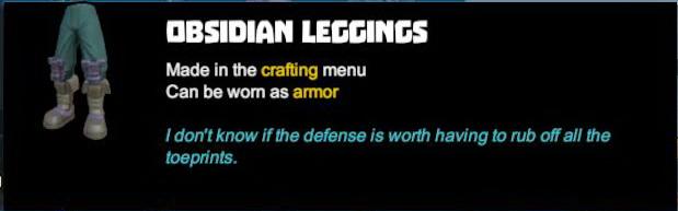 Obsidian Leggings