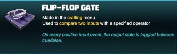 Flip-Flop Gate