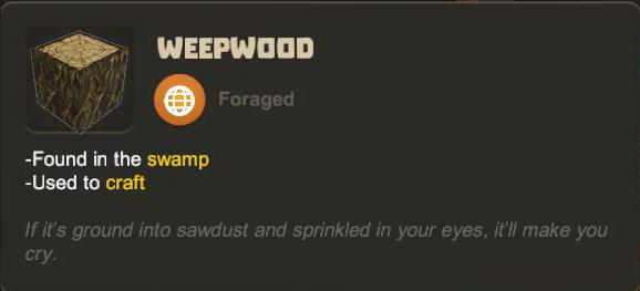 Weepwood