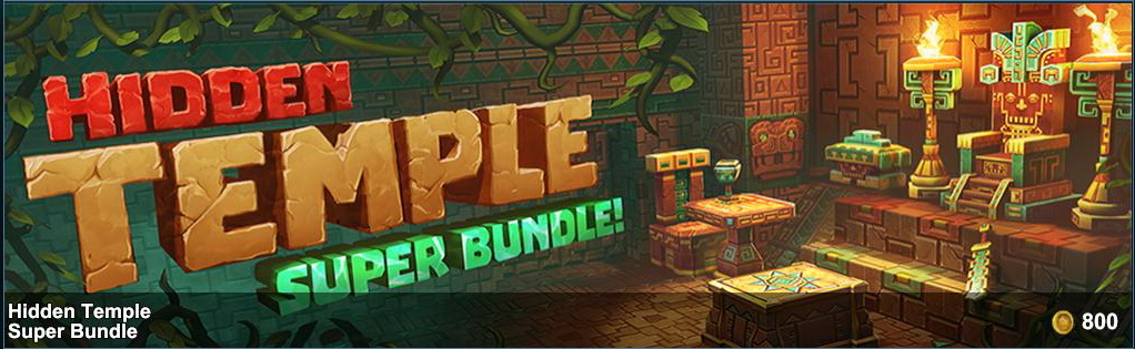 Hidden Temple Super Bundle