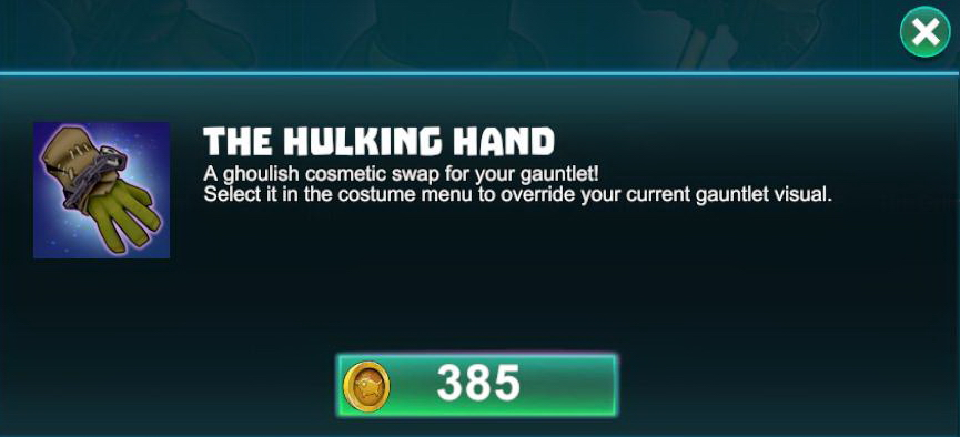 The Hulking Hand