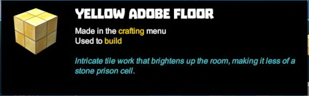 Yellow Adobe Floor