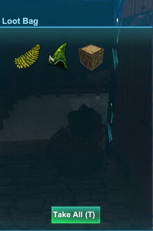 Creativerse weepwood flower and wood dropped by mossy leafi 2017-12-30 18-46-54-17 mossy leafi loot.jpg