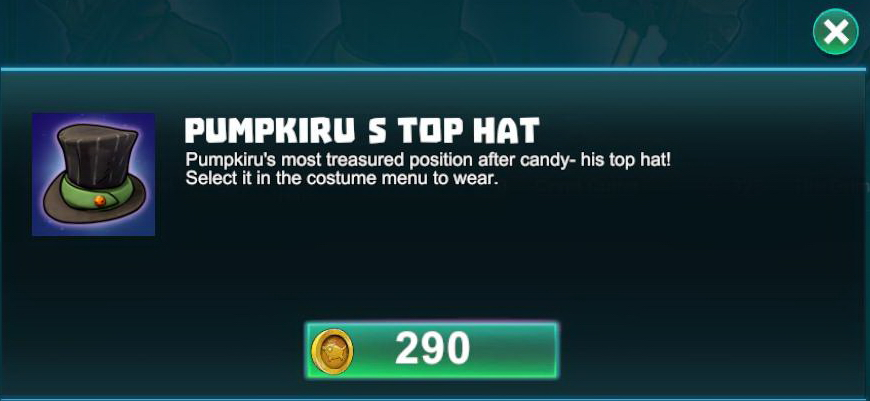 Pumpkiru's Top Hat
