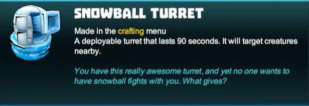 Snowball Turret