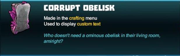Corrupt Obelisk