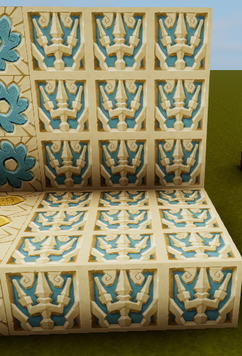 Atlantis trident accent wall.png