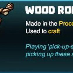 Wood Rod