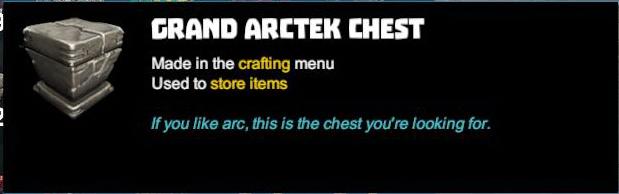 Grand Arctek Chest