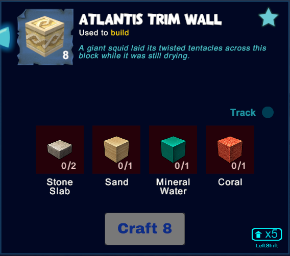 Atlantis Trim Wall