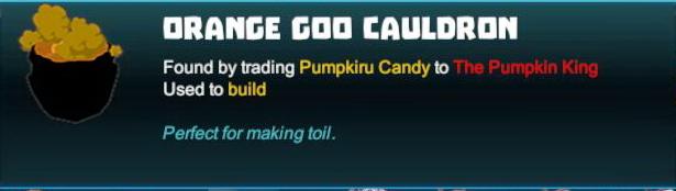 Orange Goo Cauldron