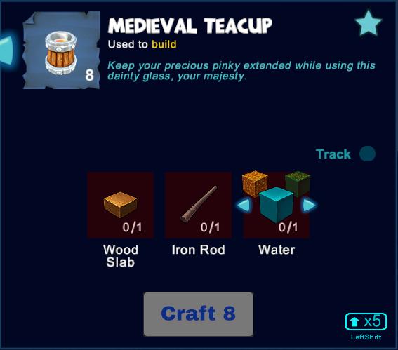 Medieval Teacup
