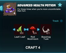 Creativerse R41 crafting recipes advanced health potion02.jpg