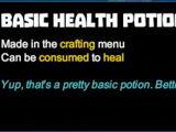 Basic Health Potion