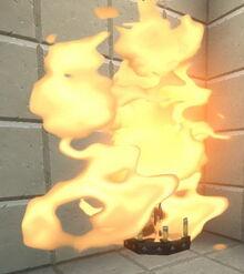 Creativerse medieval chandeliier sets tar on fire 2019-01-03 03-42-59-94.jpg