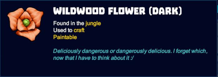 Wildwood Flower (Dark)