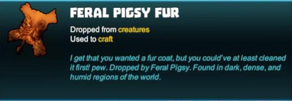 Feral Pigsy Fur