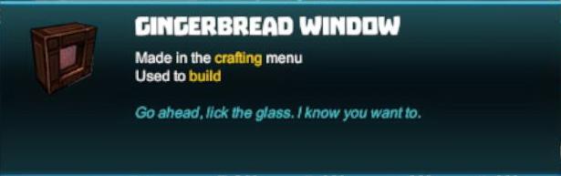 Gingerbread Window