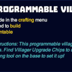 Programmable Villager