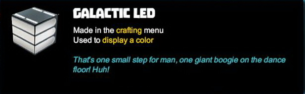 Galactic LED