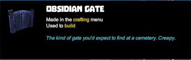 Obsidian Gate