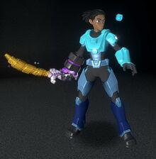 Creativerse Master creator blue and cyan 2018-08-22 23-15-02-72 5 basic armor costume sets.jpg
