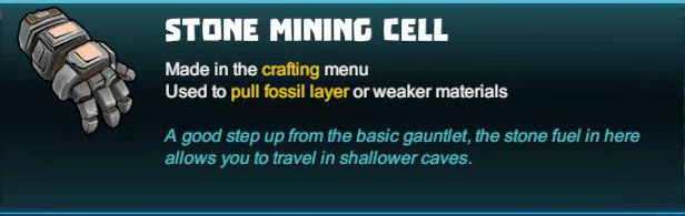 Stone Mining Cell