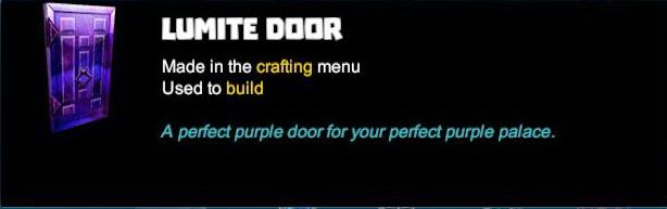 Lumite Door