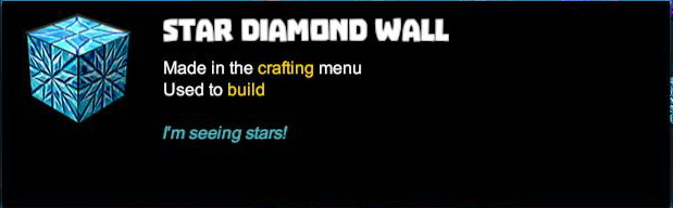 Star Diamond Wall
