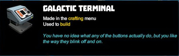 Galactic Terminal