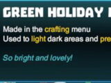 Green Holiday Light