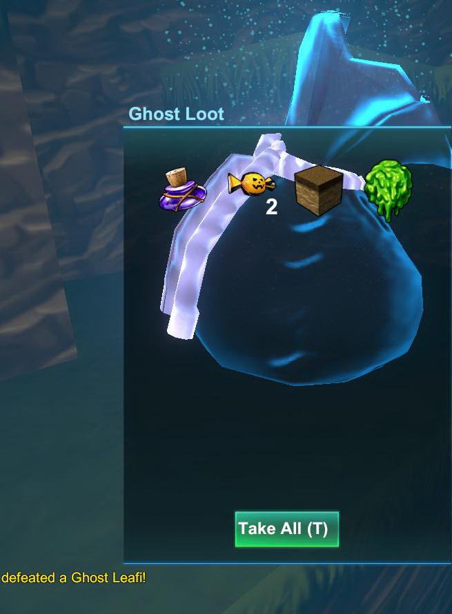 Ghost Loot