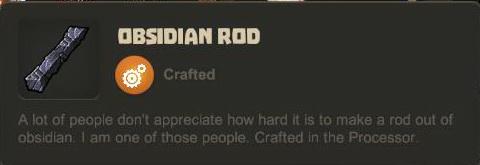 Obsidian Rod