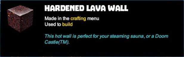 Hardened Lava Wall