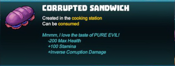Corrupted Sandwich