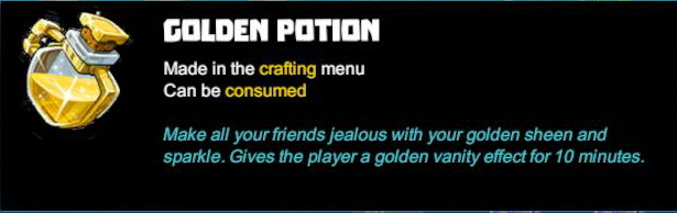Golden Potion