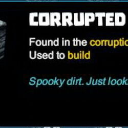 Corrupted Dirt