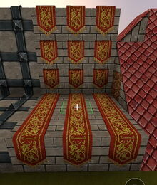 Creativerse R41 colossal castle Medieval Banner Wall2.jpg
