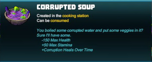 Corrupted Soup