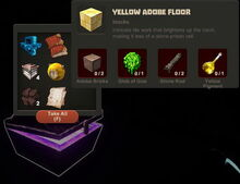 Creativerse Yellow Adobe Floor Diamond Chest 2015 8.jpg