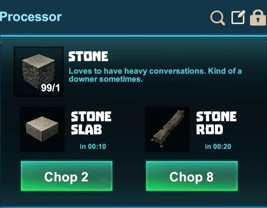 Stone Rod