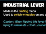 Industrial Lever