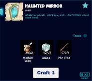 Haunted mirror craft