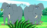 George of the Jungle Elephants