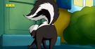 Skunk curious george