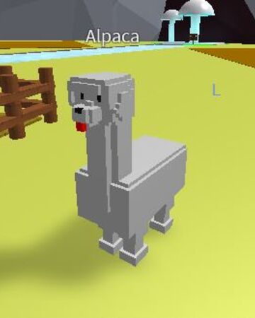 Animals Tycoon Roblox Alpaca Creatures Tycoon Wiki Fandom