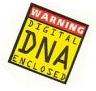 Warning! Digital DNA enclosed
